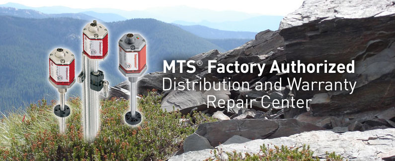 We are an authorized MTS distributor and repair center