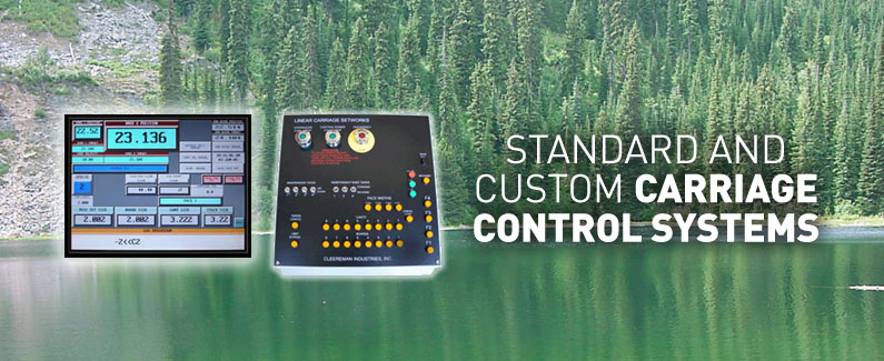 Standard and custom carriage control systems