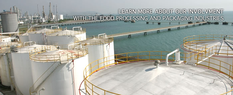 We are involved in the food processing and packing industries