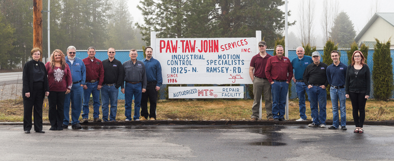 The Paw Taw John Services staff